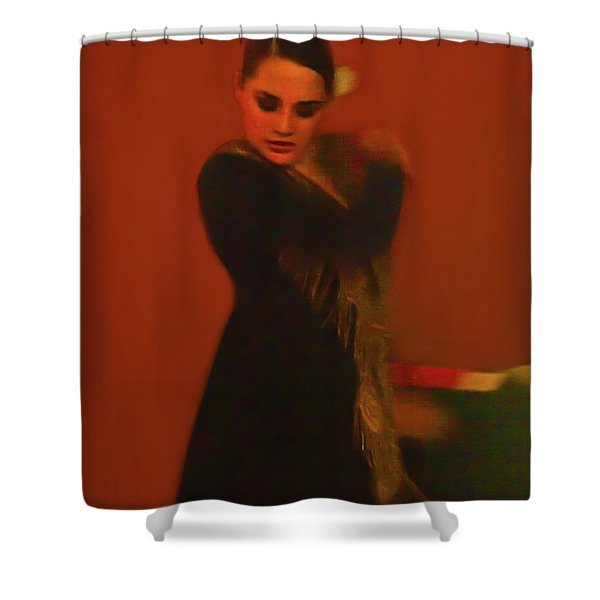 Flamenco Series 2 Shower Curtain