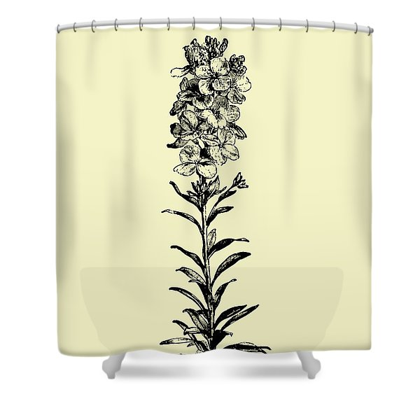 Floating Flower I Shower Curtain