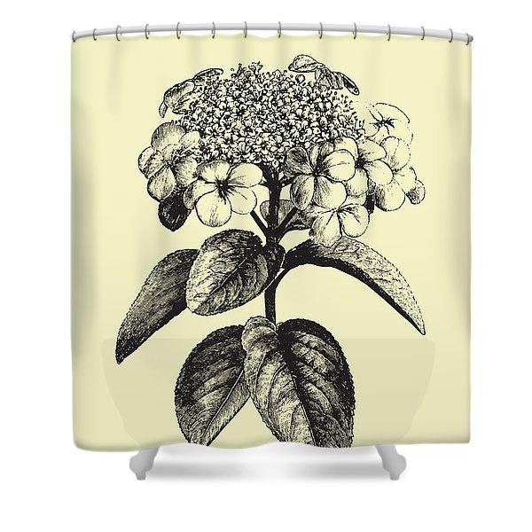 Floating Flower II Shower Curtain