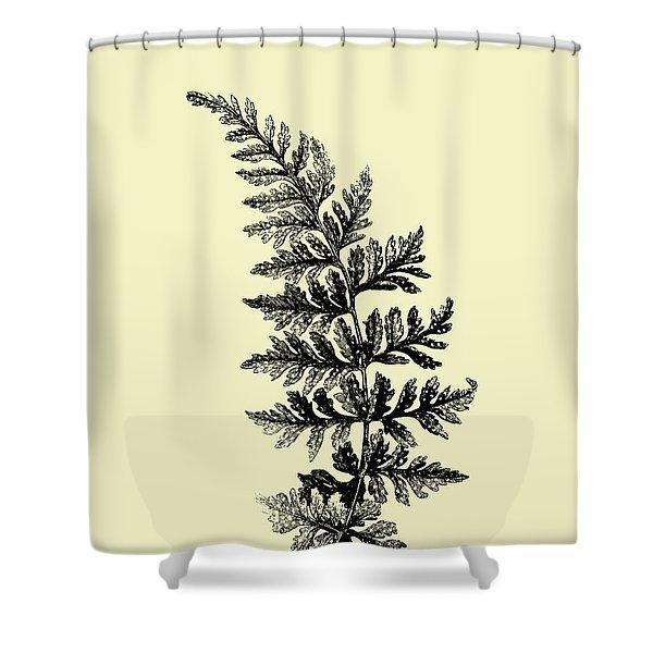 Floating Leaf Branch I Shower Curtain