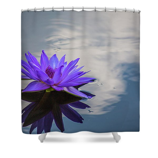 Floating On A Cloud Shower Curtain