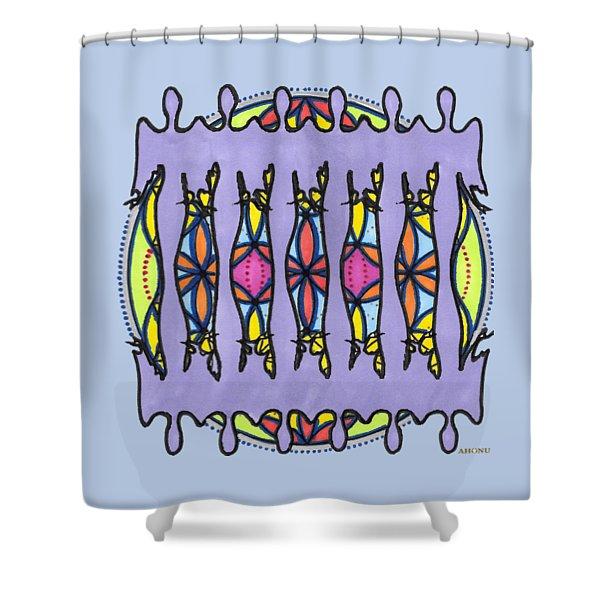 Floch Soul Portrait Shower Curtain