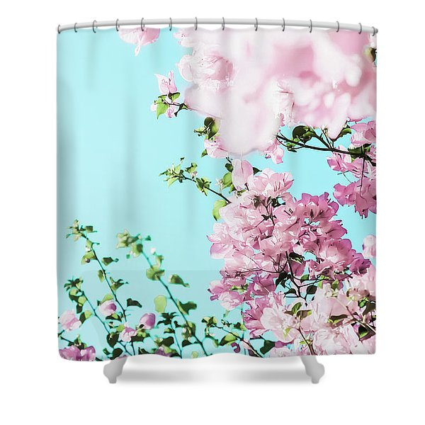 Floral Dreams I Shower Curtain