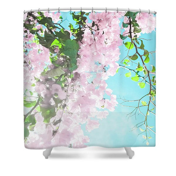 Floral Dreams IIi Shower Curtain