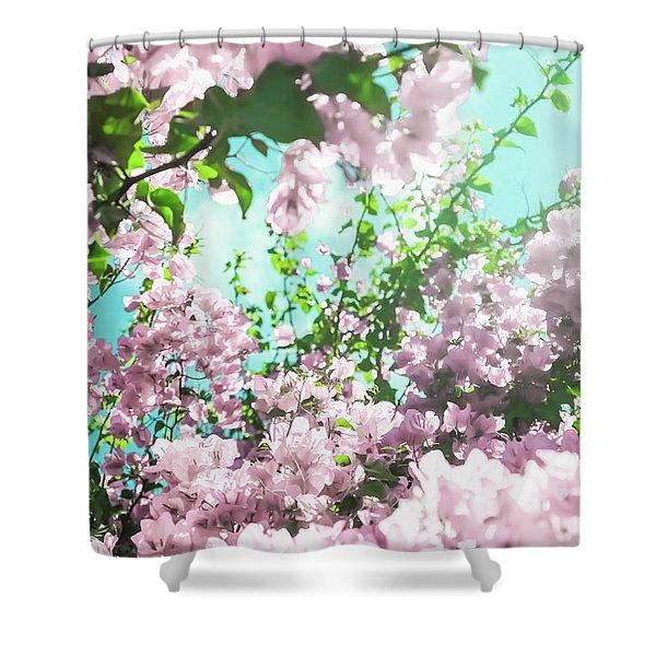Floral Dreams Iv Shower Curtain