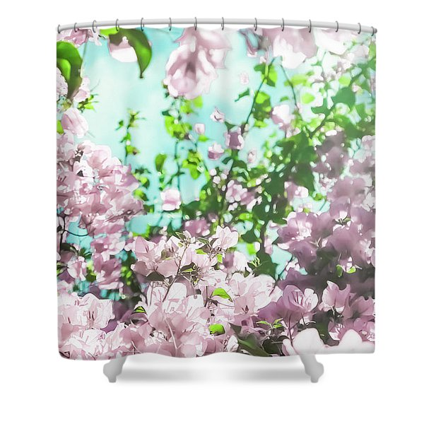 Floral Dreams V Shower Curtain