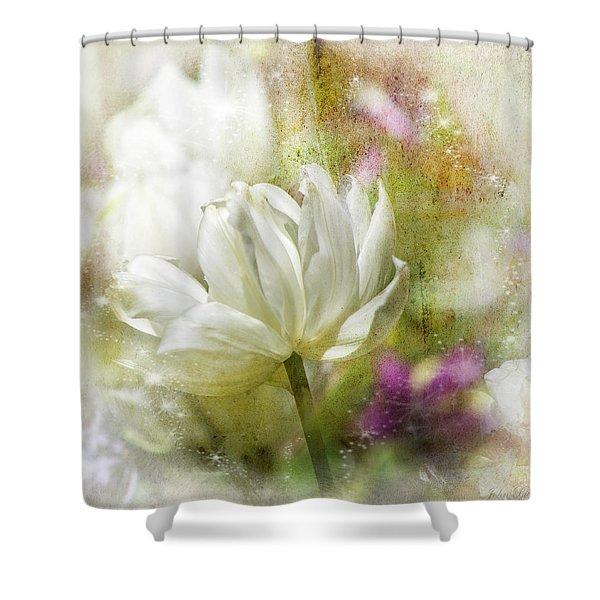 Floral Dust Shower Curtain