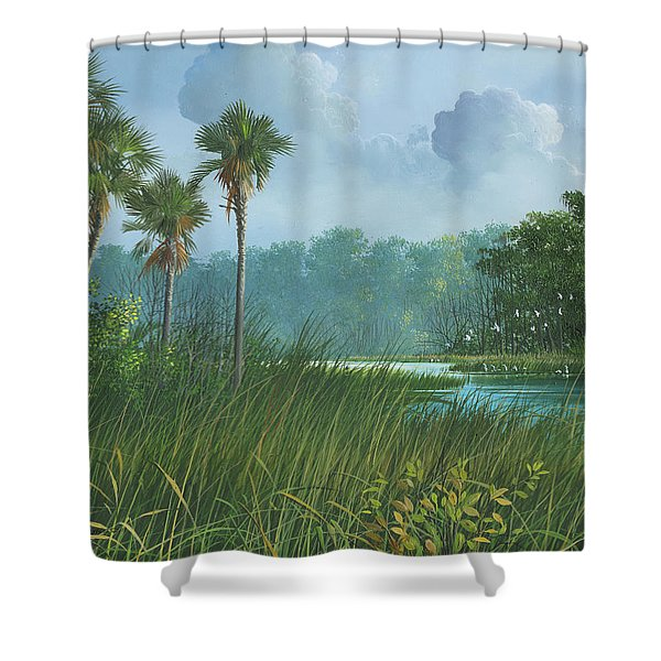 Florida's Back Country Shower Curtain