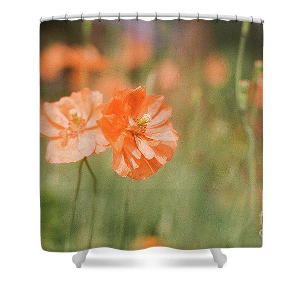 Flower Buddies Shower Curtain