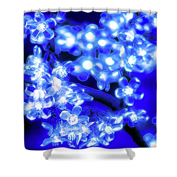 Flower Lights 1 Shower Curtain