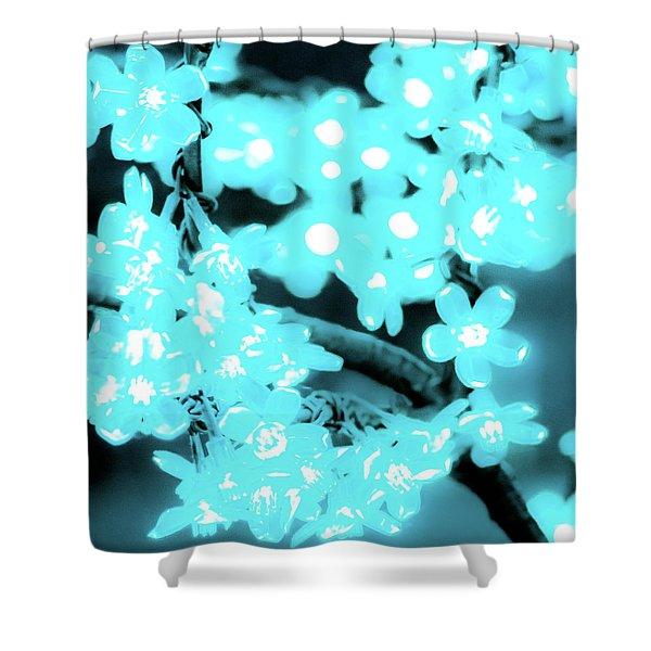 Flower Lights 3 Shower Curtain
