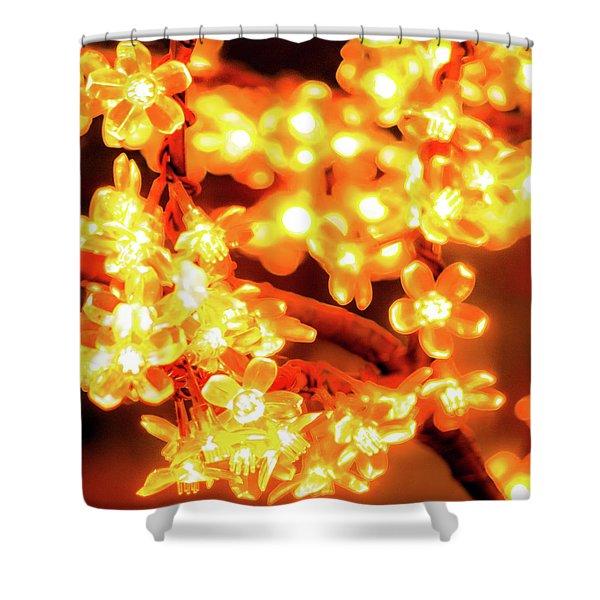 Flower Lights 5 Shower Curtain