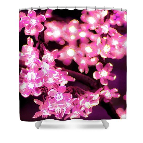 Flower Lights 9 Shower Curtain