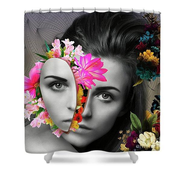 Flower Power Part One  Shower Curtain