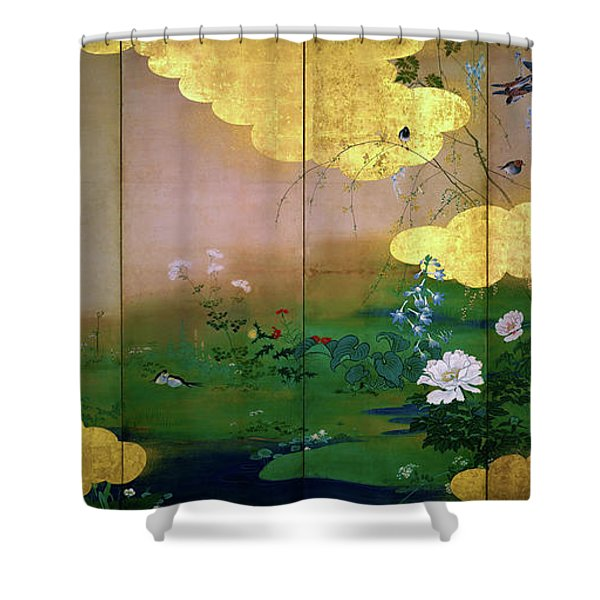 Flowers And Birds Of The Four Seasons - Digital Remastered Edition Shower Curtain