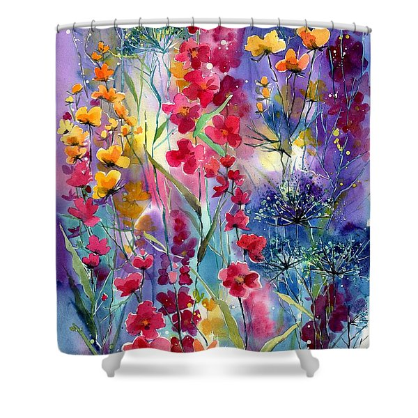 Flowers Fairy Tale Shower Curtain