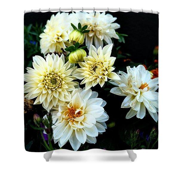 Flowers In The Garden Shower Curtain