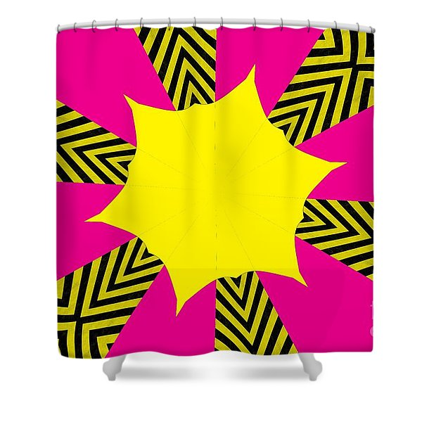 Flowers Number 14 Shower Curtain