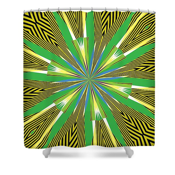 Flowers Number 26 Shower Curtain