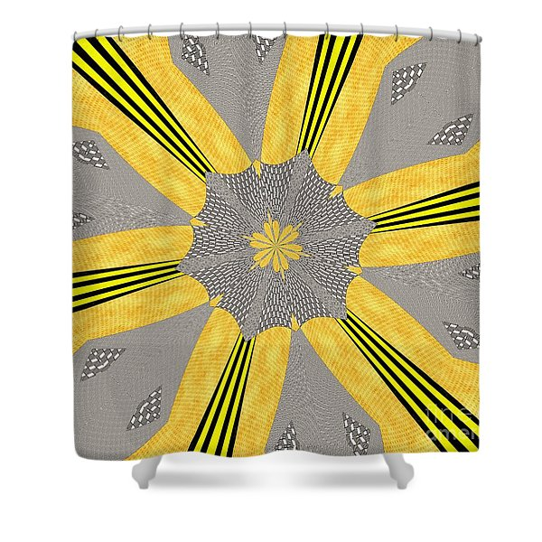 Flowers Number 72 Shower Curtain