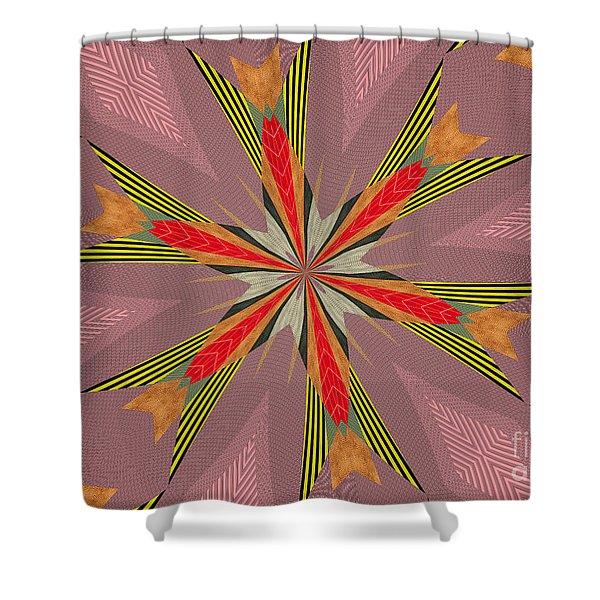 Flowers Number Thirteen Shower Curtain