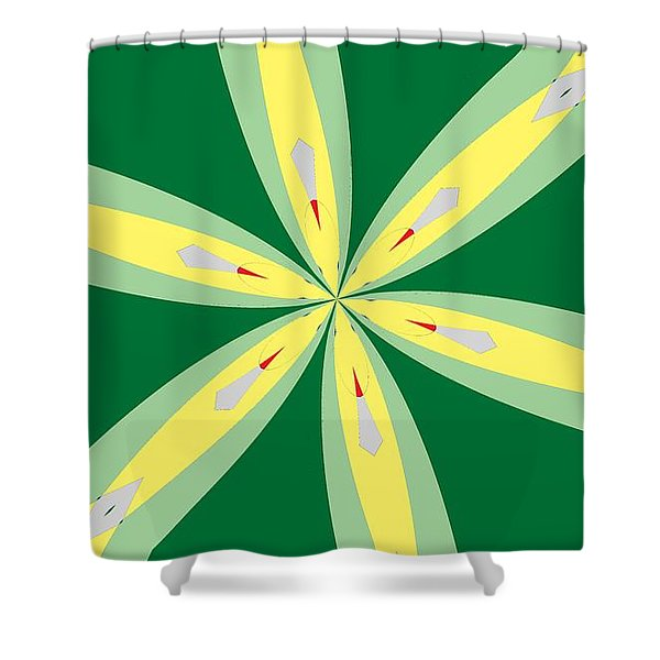 Flowers Number Thirty Shower Curtain