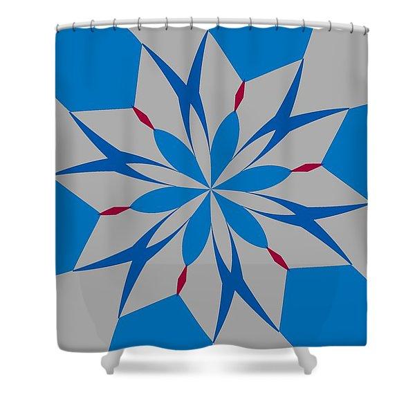 Flowers Number Twelve Shower Curtain