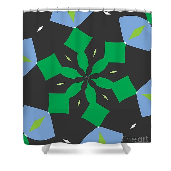 Flowers Number Two Shower Curtain