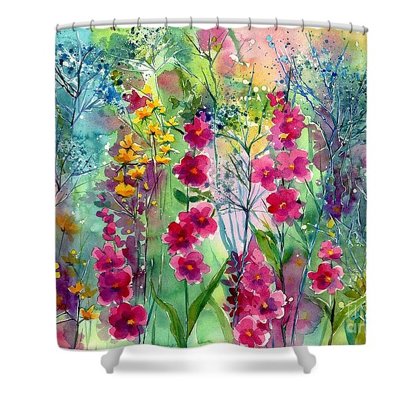 Flowery Fairy Tales Shower Curtain