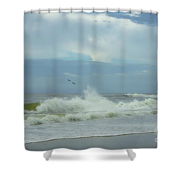 Fly Above The Surf Shower Curtain