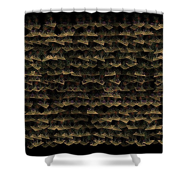 Flying Islands Shower Curtain