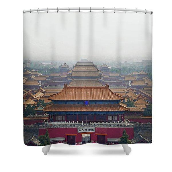 Forbidden Shower Curtain