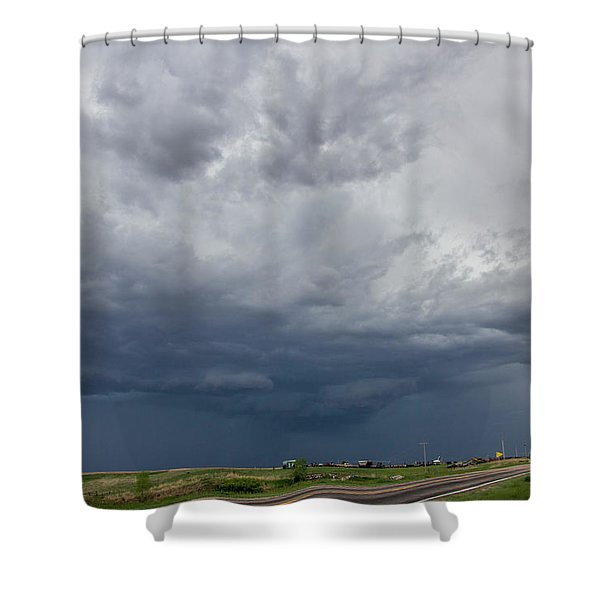 Forces Of Nebraska Nature 002 Shower Curtain