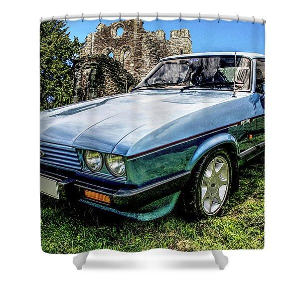 Ford Capri 3.8i Shower Curtain