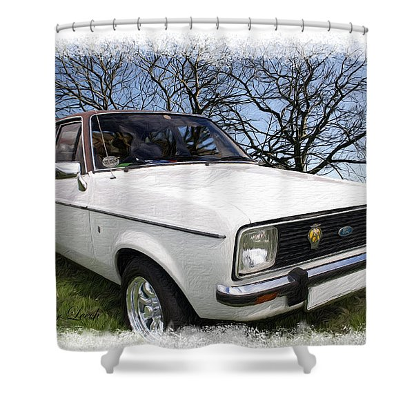 Ford Escort Shower Curtain