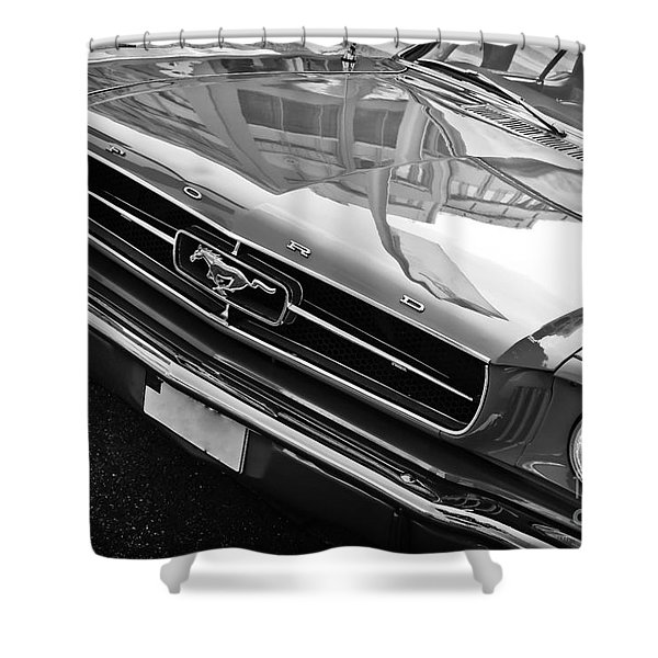Ford Mustang Vintage 2 Shower Curtain