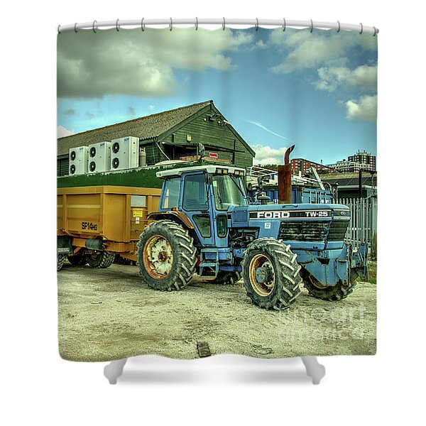 Ford Tw25 Shower Curtain
