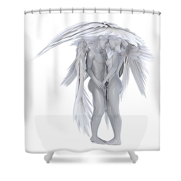 Forever In My Heart Shower Curtain