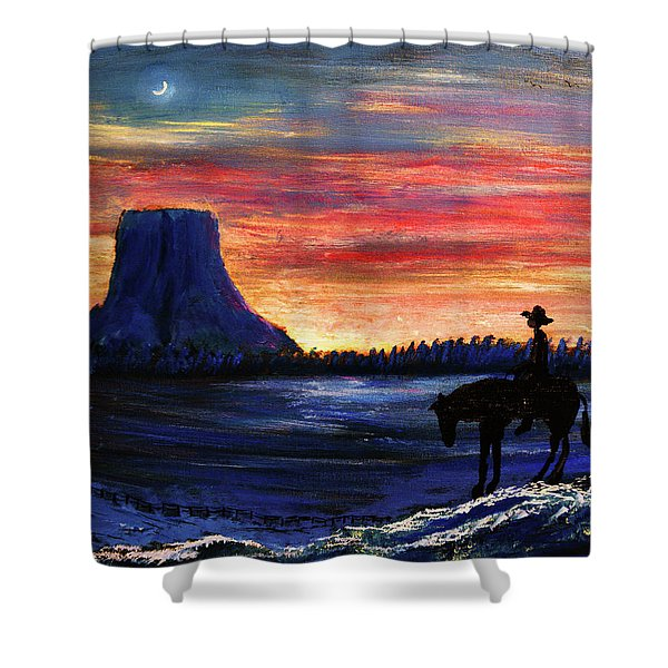 Forever West Shower Curtain