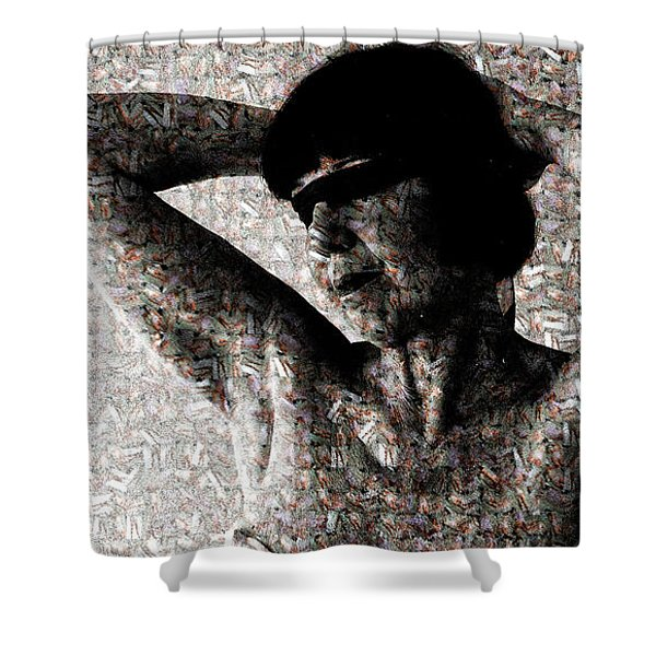 Forgetting Memories Shower Curtain
