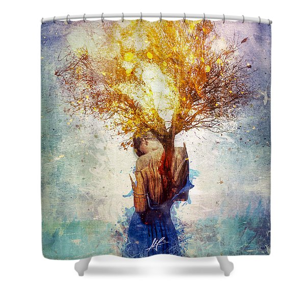 Forgiveness Shower Curtain