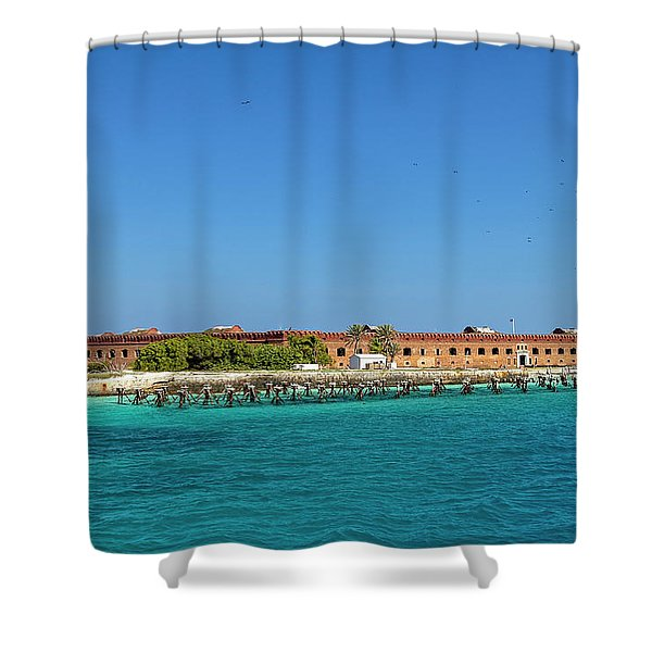 Fort Jefferson, Dry Tortugas National Park Shower Curtain