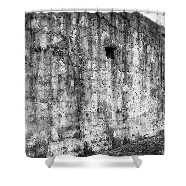 Fortification Shower Curtain