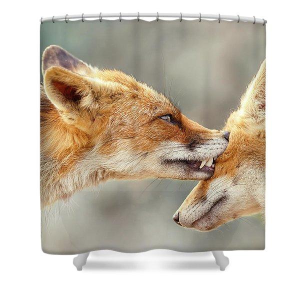 Fox Love Series - That's My Eye Shower Curtain