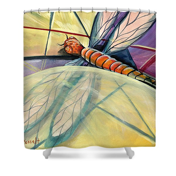 Fragments Of Healing Shower Curtain
