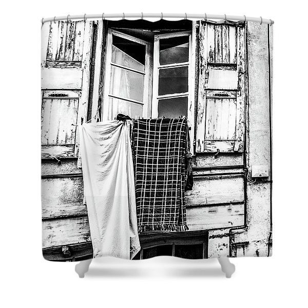 Franch Laundry Shower Curtain