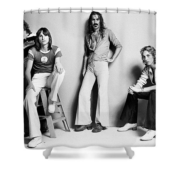 Frank Zappa Zoot Allures Shower Curtain