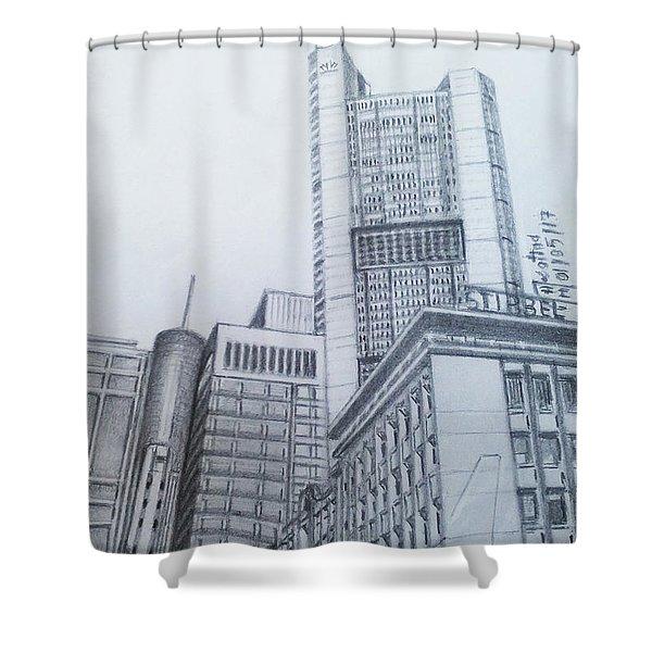 Frankfurt-germany Shower Curtain
