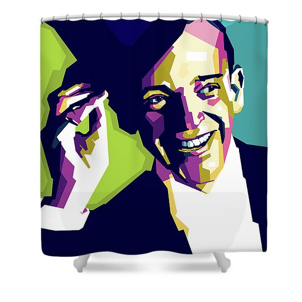 Fred Astaire Shower Curtain