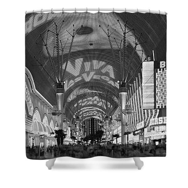 Fremont Street Experience, Las Vegas Shower Curtain